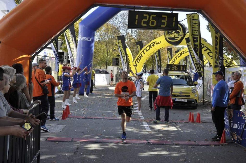Milan 17. na polumaratonu u Apatinu